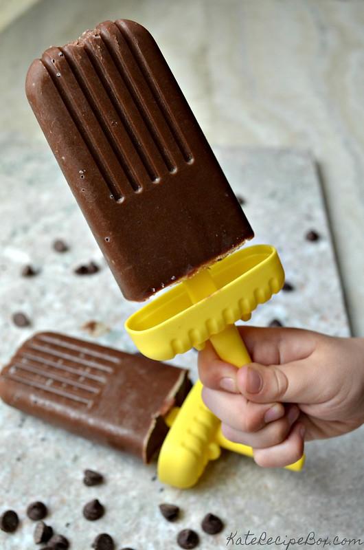 Chocolate Avocado Popsicles 2
