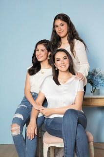 Celebrity ambassadors Ruffa Gutierrez, Lorin, and Venice