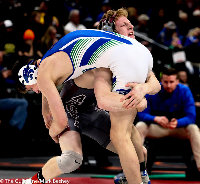 145AAA 5th Place Match - Scott Springer (Anoka) 47-7 won by decision over Ty Gage (Eagan) 30-13 (Dec 6-0) - 190302cmk0122