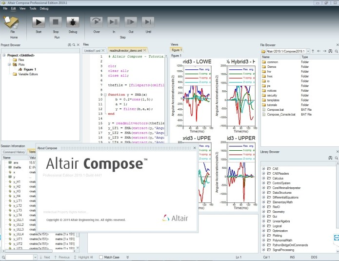 Working with Altair Compose 2019.1 full license