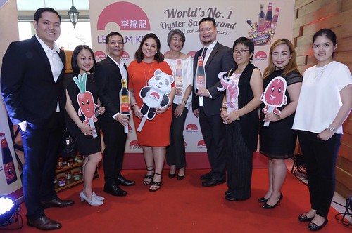 Lee Kum Kee Philippines Sales Manager for General Trade Mr. Linus Reyes