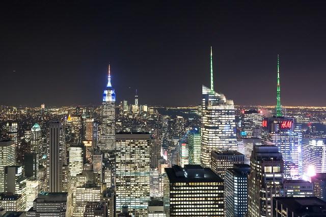 Manhattan des del Top of the Rock