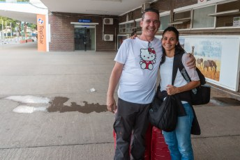 Een paar dagen later arriveerde Lucía dan eindelijk, zodat we de rest van Afrika gezellig samen konden verkennen.