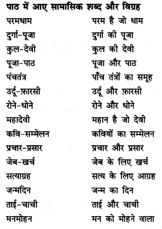NCERT Solutions for Class 9 Hindi Kshitiz Chapter 7 मेरे बचपन के दिन 13