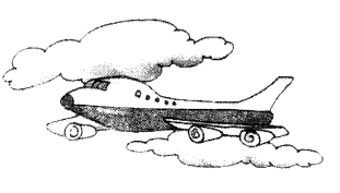 NCERT Solutions for Class 1 English Chapter 20 Flying-Man 2