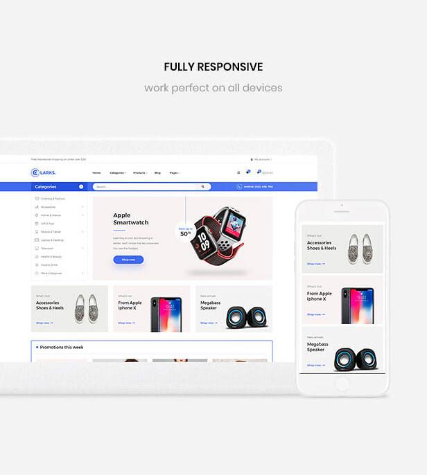 Leo Clarks - Fully Responsive Multistore PrestaShop Theme