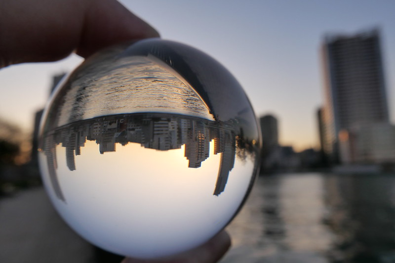 sunset lens ball