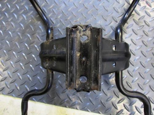 Upper Fairing Bracket Detail of Welded Bracket That Fits Against Steering Head