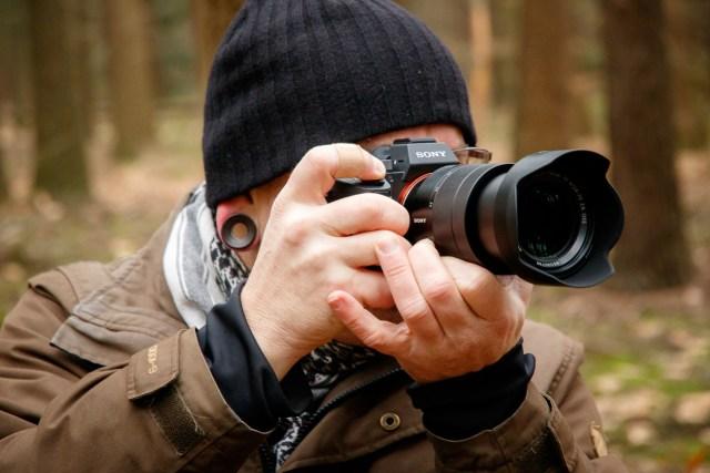 Fotograferen met de Sony is zoals elke andere camera, afgezien van het hele kleine formaat.