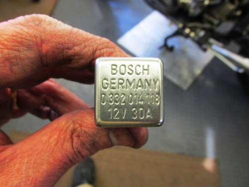 Top of Relay Has Bosch Part Number