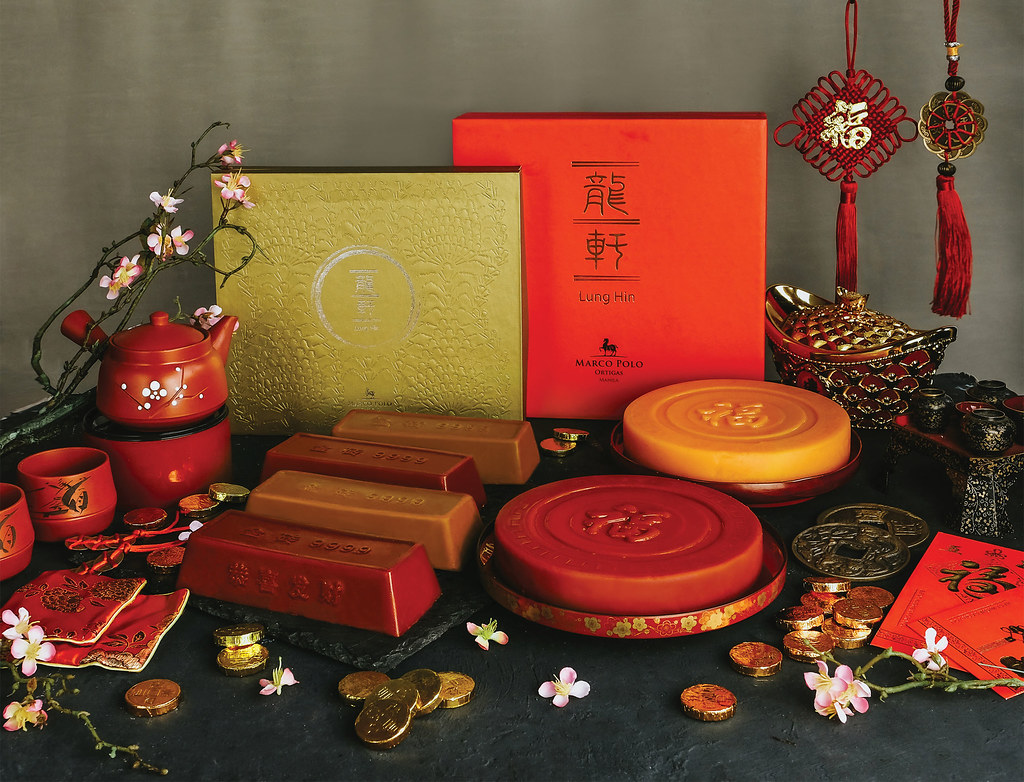 Blissful Blessings, the Nian Gao Collection for the Year of the Earth Pig at Marco Polo Ortigas Manila.