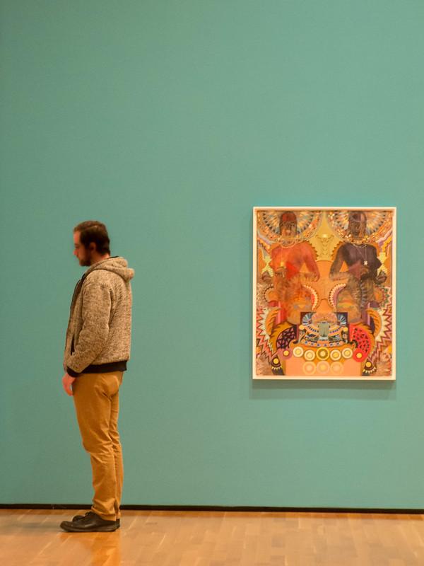 artmuseumtealwall