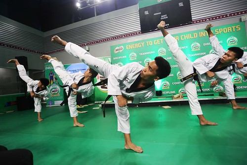 2019 MILO Summer Sports Clinics Karatedo