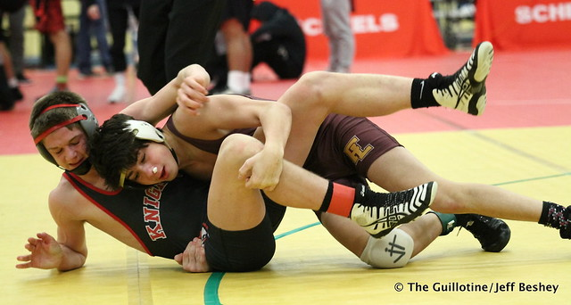 132 - Cole Decker (Forest Lake) over Bray Olson (Kenyon Wanamingo) Dec 8-4. 190105AJF0431