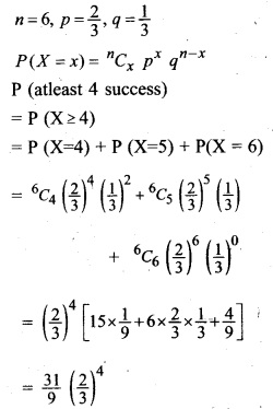 Plus Two Maths Chapter Wise Questions and Answers Chapter 13 Probability 60