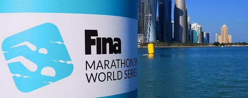 FINA Marathon Swim Series 2019: prima tappa a Doha, 9 gli azzurri in gara