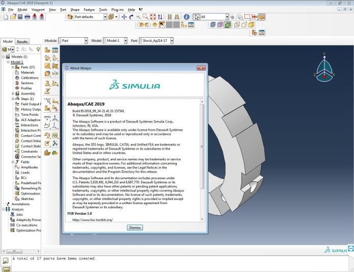 Download DS SIMULIA Suite 2019 (Abaqus/Isight/Fe-safe/Tosca