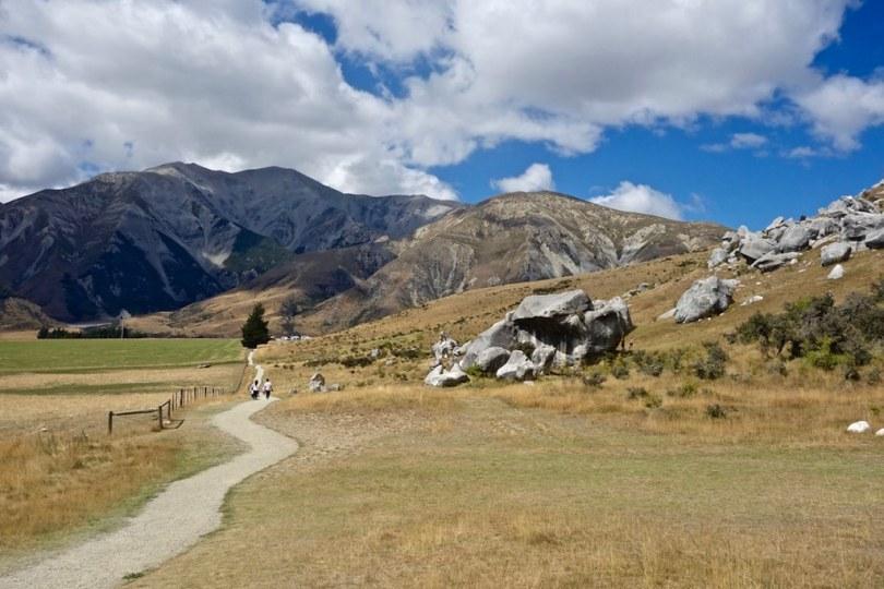 Castle Hill in Nuova Zelanda