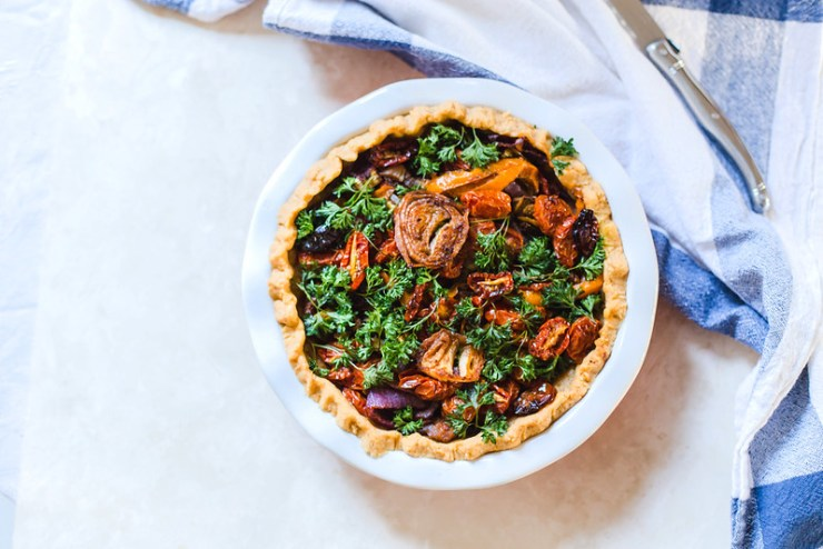 Roasted Vegetable Pie