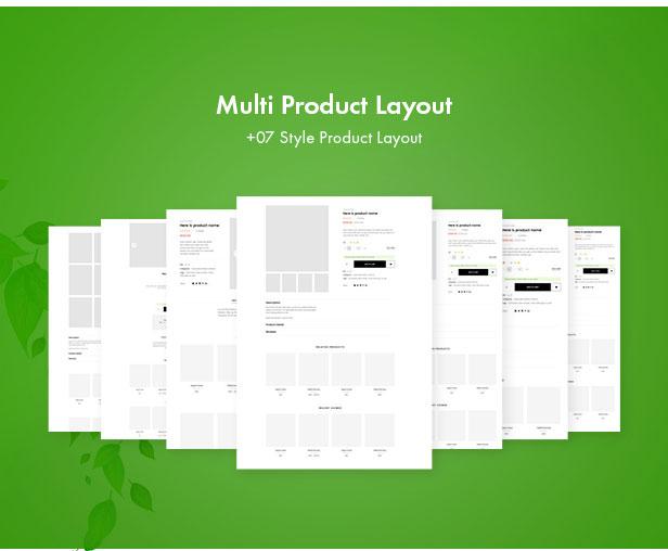 Leo Zlin - best prestashop tea shop theme - Mutiple Detail Product Layouts