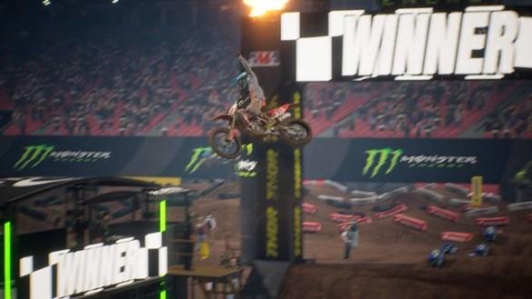 Monster Energy Supercross Videohry 2