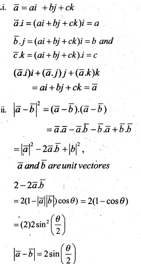 Plus Two Maths Chapter Wise Questions and Answers Chapter 10 Vector Algebra 64