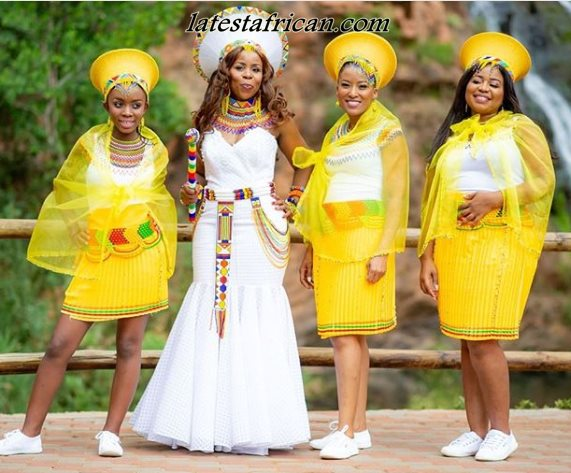 Traditional African Wedding Dresses Styles 2019