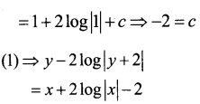 Plus Two Maths Chapter Wise Questions and Answers Chapter 9 Differential Equations 52