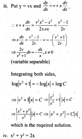 Plus Two Maths Chapter Wise Questions and Answers Chapter 9 Differential Equations 79