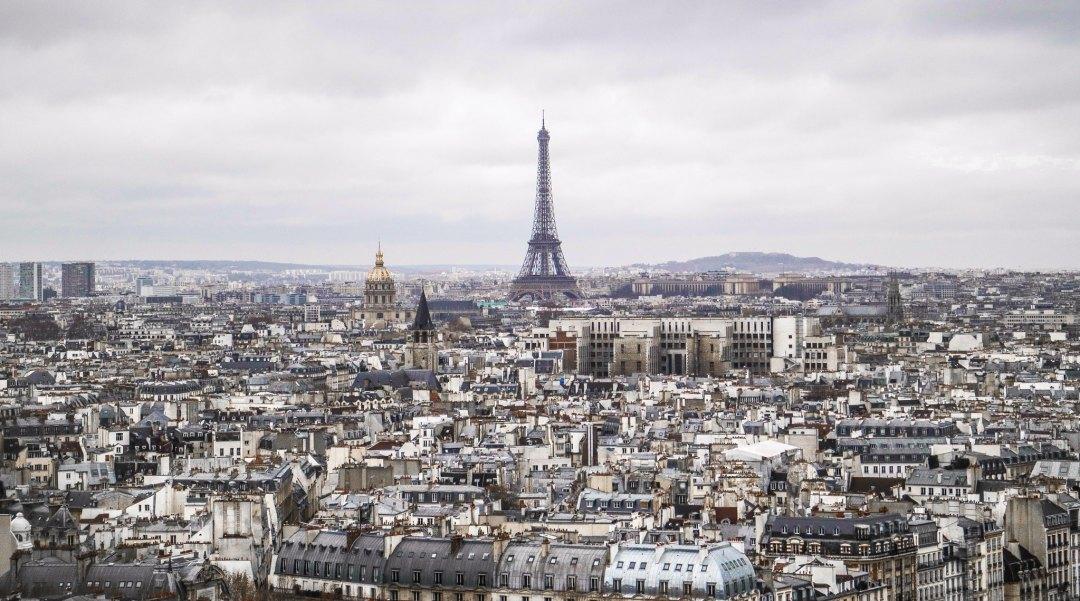 Parigi vista da Notre-Dame