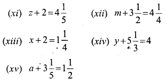 Selina Concise Mathematics Class 6 ICSE Solutions - Simple (Linear) Equations (Including Word Problems) - a1.