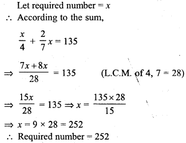 Selina Concise Mathematics Class 6 ICSE Solutions - Simple (Linear) Equations (Including Word Problems) - d3