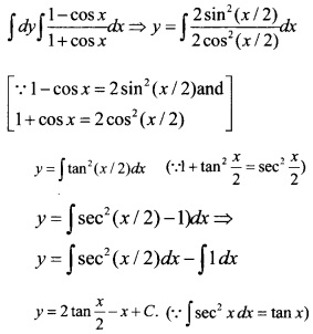 Plus Two Maths Chapter Wise Questions and Answers Chapter 9 Differential Equations 9