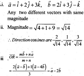 Plus Two Maths Chapter Wise Questions and Answers Chapter 10 Vector Algebra 47