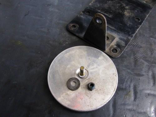 Rear Reflector Hardware Detail