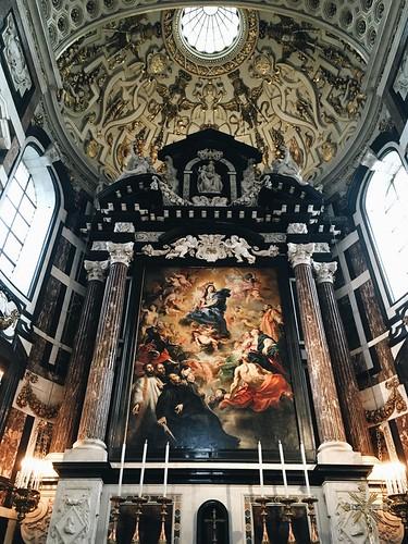 Altar mayor iglesia San Carlos Borromeo