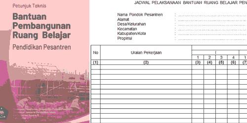 Format-Blangko-Jadwal-Pelaksanaan-Bantuan-Ruang-Belajar-Pendidikan-Pesantren