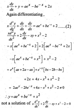 Plus Two Maths Chapter Wise Questions and Answers Chapter 9 Differential Equations 77
