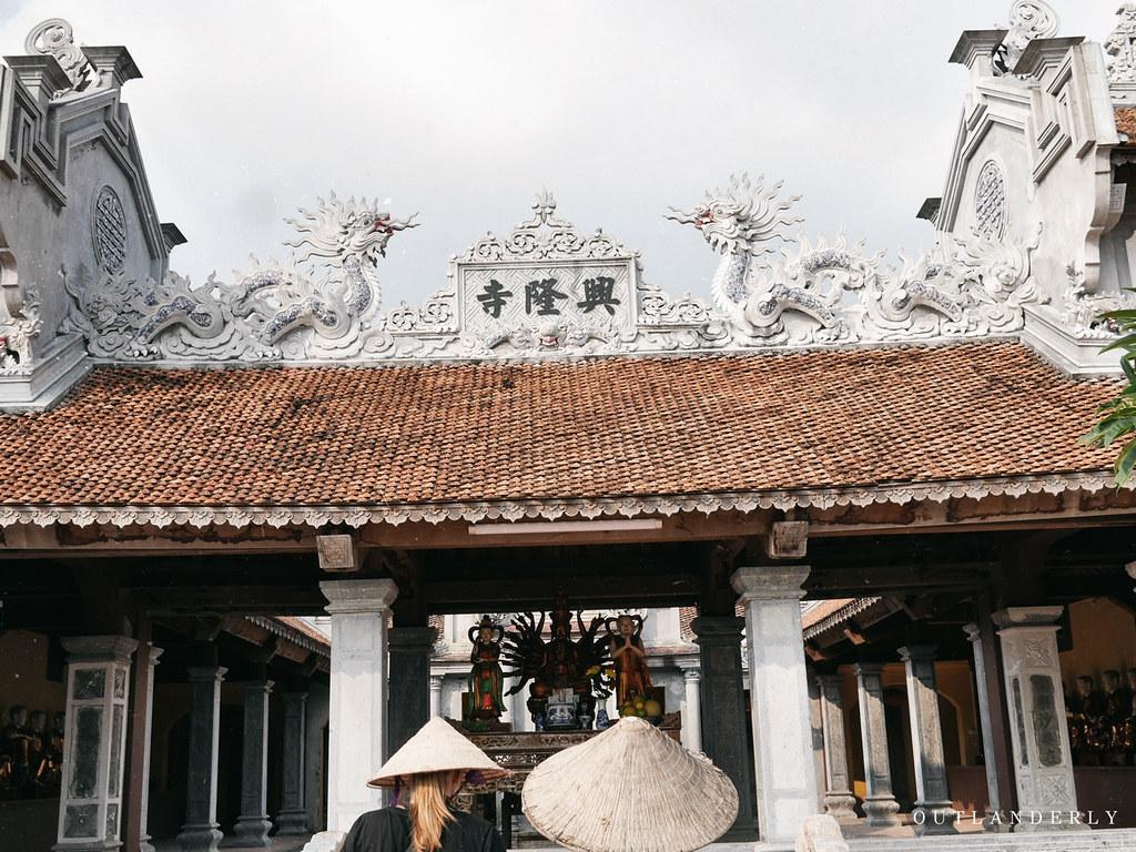 Ca Temple, an old temple, Viet Farm Trip