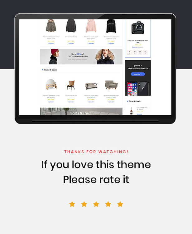 Leo Clarks - Best Rating - Mutltistore PrestaShop Theme