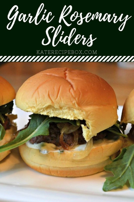 Garlic Rosemary Sliders