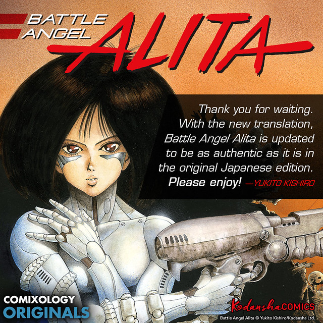 Battle Angel Alita anime