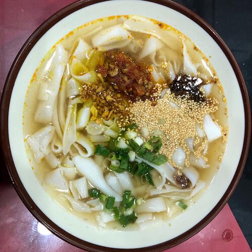 眷村傳統美食「米干」