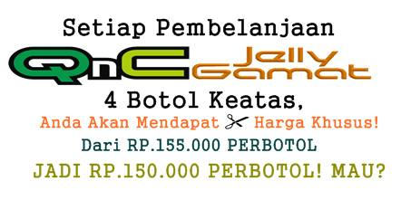 Promo obat herbal QnC Jelly Gamat