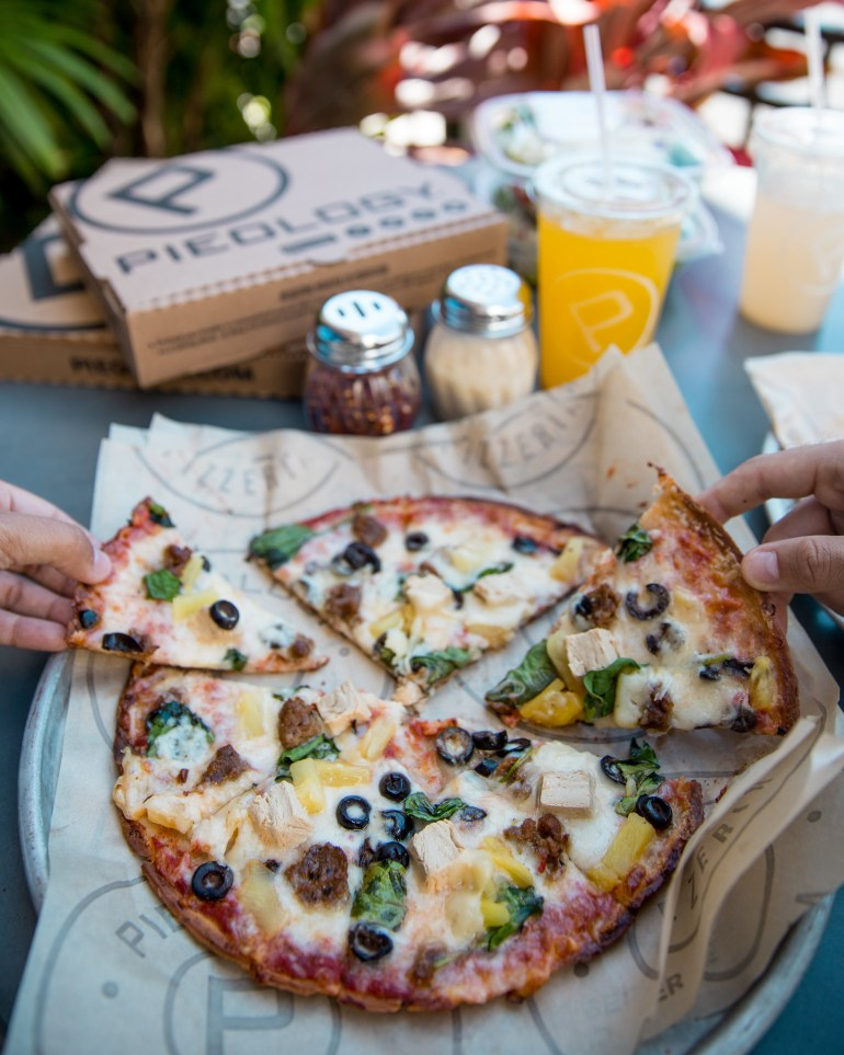 Pieology Plant Proteins - Vegan Pizza