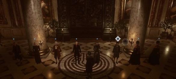 The Council - Episode 5 - Character Arrangement