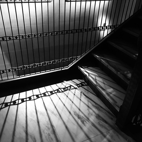 Shadows on the Stairs by DJ Lanphier