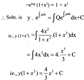 Plus Two Maths Chapter Wise Questions and Answers Chapter 9 Differential Equations 37