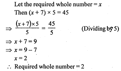 Selina Concise Mathematics Class 6 ICSE Solutions - Simple (Linear) Equations (Including Word Problems) - d13