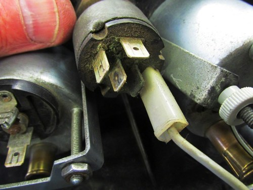 Ignition Switch Spades-Only 4 Are Used